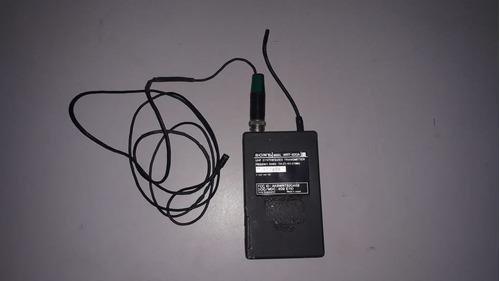 sony wrt-820 wrt-820a uhf 794-805mhz + microfone lapela (h)