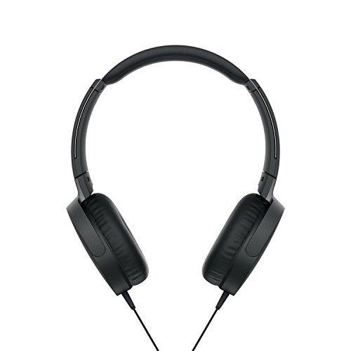 sony xb550ap extra bajo en - oreja auricular , negro (2017 m