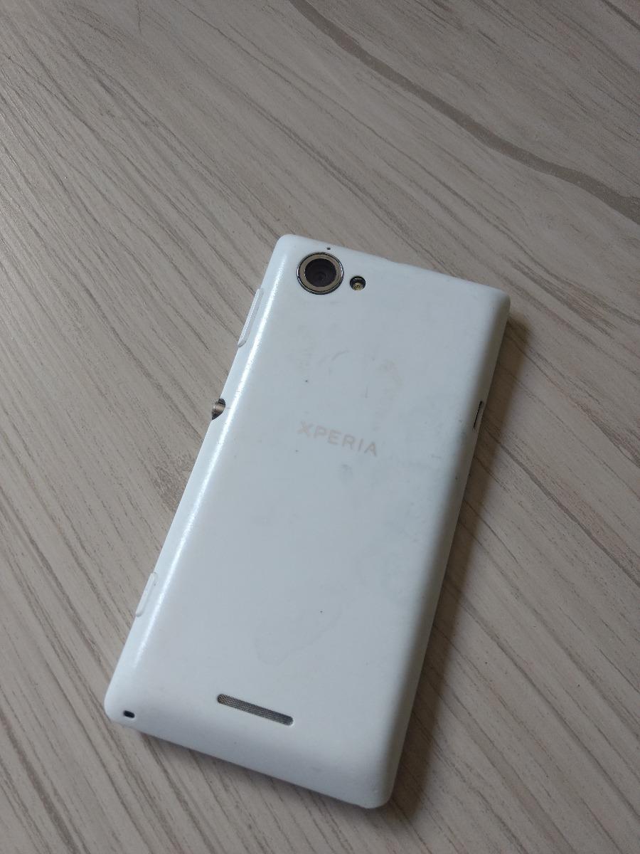 Sony Xperia L 3g Wifi Branco Usado R 26000 Em Mercado Livre E4g 8gb Black Unlocked