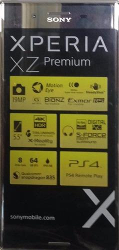 sony xperia xz premium 64gb 4gb ram 19mp 13mp libres tienda