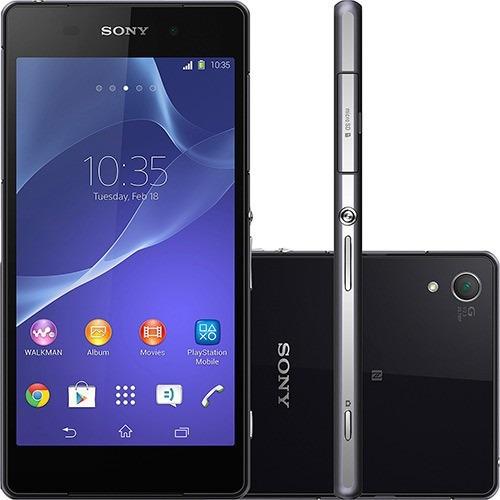 sony xperia z2 d6543 - android 4.4, 20.7mp - de vitrine
