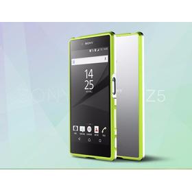 Sony Xperia Z5 Y Z5 Premium Bumper Metalico De Lujo Original
