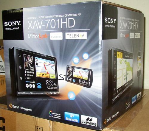 sony xplod xav-701hd bluetooth usb ipod dvd touchscreen