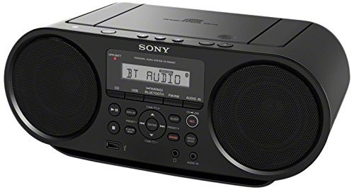 sony zsrs60bt cd boombox con bluetooth y nfc ( negro )