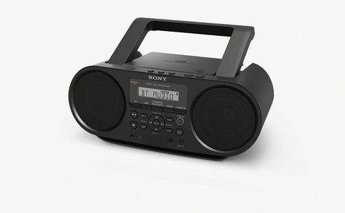sony zsrs60bt cd boombox con bluetooth y nfc (negro)