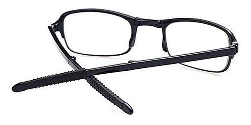 soolala 3 pairs black mini tr90 gafas de lectura plegables c