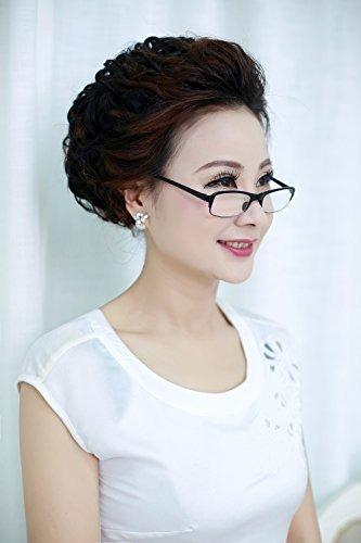 soolala 3 pares negro mini tr90 gafas plegables de lectura c
