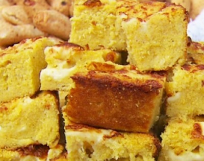sopa paraguaya con autentica harina de maiz