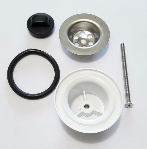 sopapa rejilla pvc desagote pileta baño lavatorio 40mm