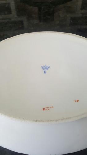 sopera bombonera antigua  porcelana alemana