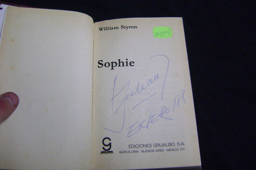 sophie / william styron