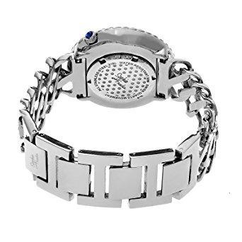 sophie y cuarzo suizo del reloj del acero w102