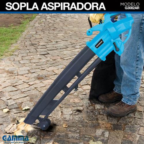 sopla aspiradora 2400 w sopladora cesped gamma g3082 bolsa