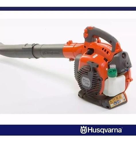 soplador aspirador de hojas husqvarna 125 bvx 28cc 1,1hp