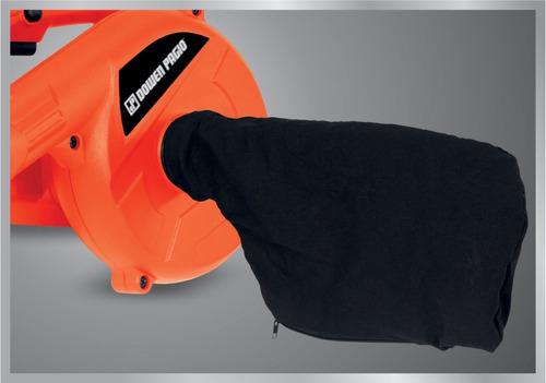 soplador aspirador electrico dowen pagio 600w con bolsa