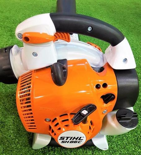 soplador aspirador stihl sh 86c nuevo + bolsa stihl+garantia