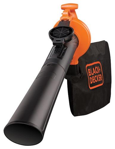 soplador aspiradora 2500w black decker bv25 black + decker bv25-ar
