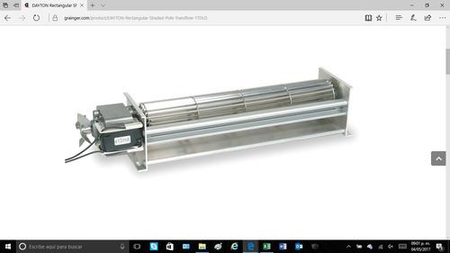soplador de flujo laminar dayton modelo 4c745