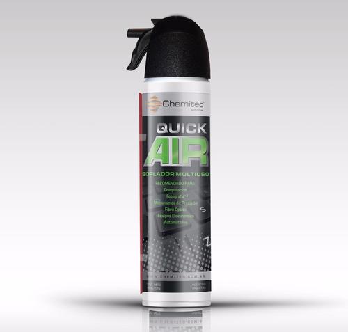 soplador multiuso aire comprimido aerosol chemitec 200gr pc