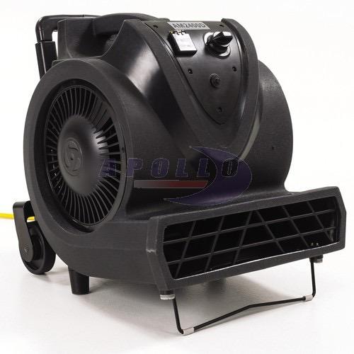 soplador secador ventilador industrial para alfombras y pisos mojados con 3 velocidades y 2400 cfm uso rudo
