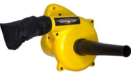 sopladora aspiradora electrica hojas 500w bolsa recolectora