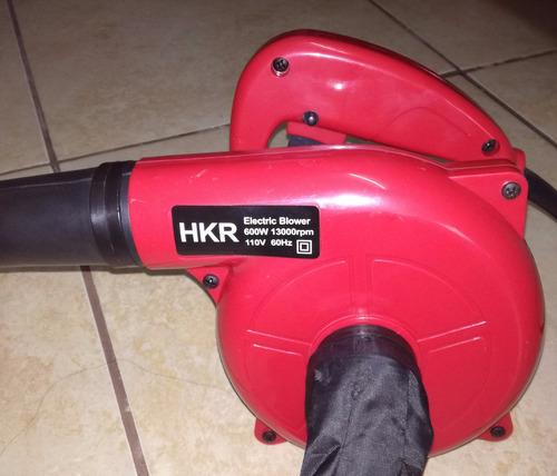 sopladora aspiradora hkr 600w 13000 rpm