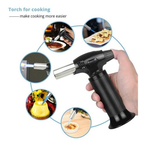 soplete flameador culinario para resposteria y cocina