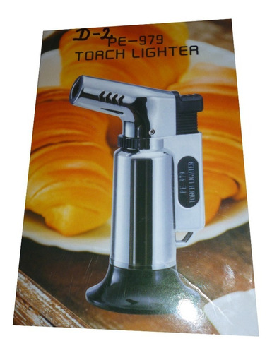 soplete flameador portatil triple flama cocina repostería