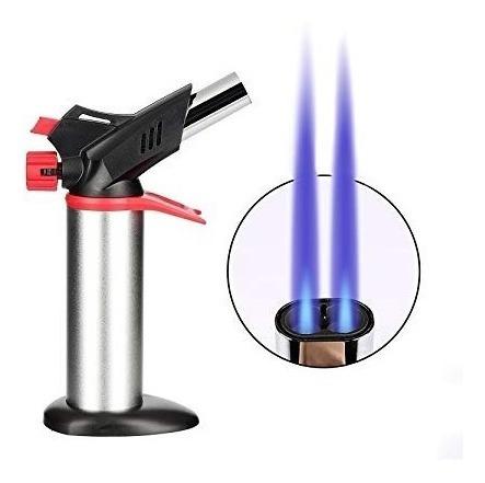 soplete flameador portatil turbo doble flama repostería etc.