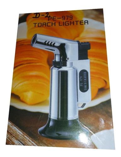 soplete flameador portatil turbo triple flama cocina