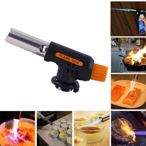 soplete reposteria flambeador gas butano - electroimporta