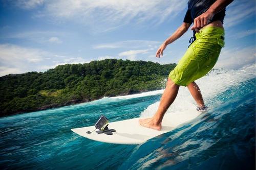 soporte action cam para tabla de surf sony aka-sm1