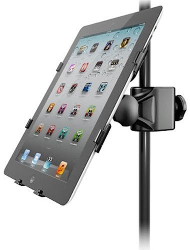 soporte adaptador ik multimedia iklip 2 ipad music