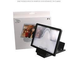 soporte ampliador de pantalla lupa 3d p/celulares vte lopez