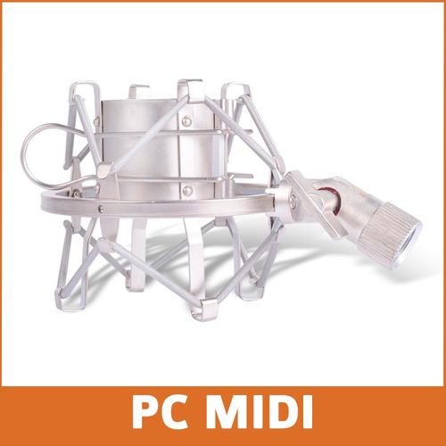 soporte araña microfono condenser shockmount alctron ma001