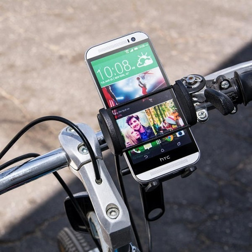 soporte arkon celular moto bici sten p/ iphone 8 galaxy s8
