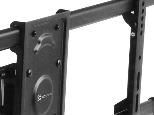 soporte articulado para tv klip xtreme negro