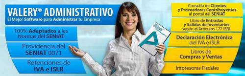 soporte - asesoría sistema administrativo - contable valery®