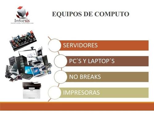 soporte aspel, instalación, consumibles, mantenimiento.