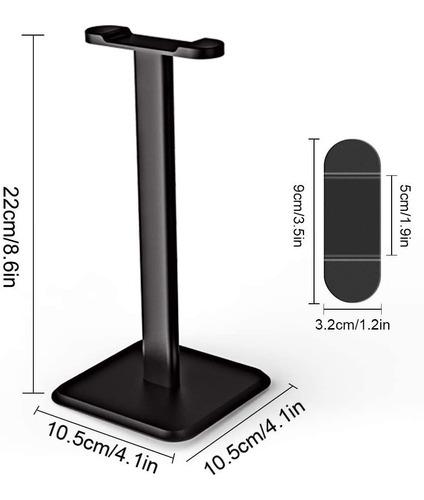 soporte auriculares gamer base de mesa apoyo headset pc ps4
