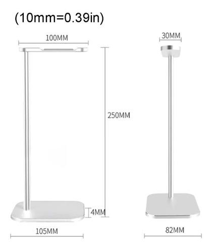 soporte auriculares gamer headset pc ps4 premium aluminio