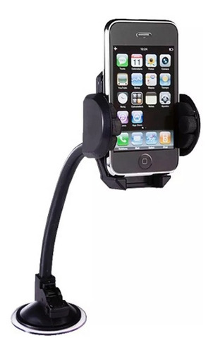 soporte auto celular gps flexible giratorio iphone samsung