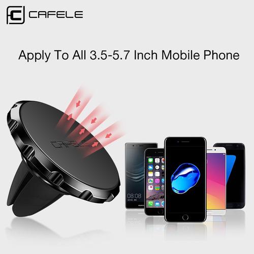 soporte auto magnetico cafele air ventilacion iphone samsung