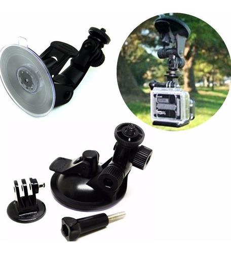 soporte auto ventosa para cámaras gopro suction cup