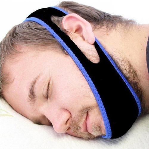 soporte banda anti ronquido neoprene dejar de roncar dormir