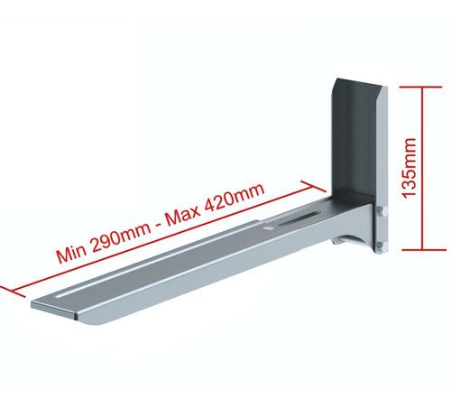 soporte / base de pared para horno microondas, jd spm-02