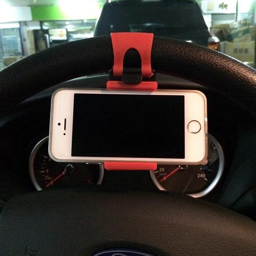 soporte base de volante telefono carro gps iphone samsung