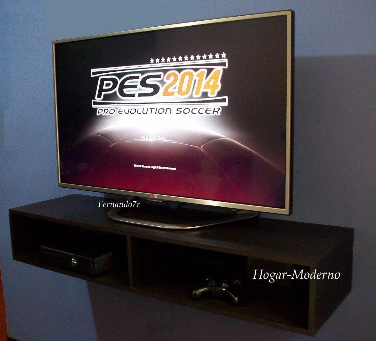 soporte base flotante para tv 120cm en mercado. Black Bedroom Furniture Sets. Home Design Ideas