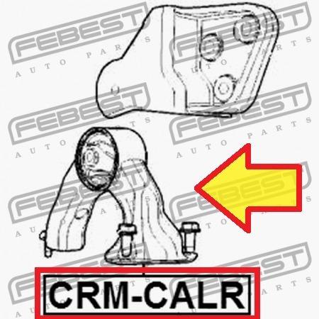 soporte base motor trasera dodge  caliber  febest