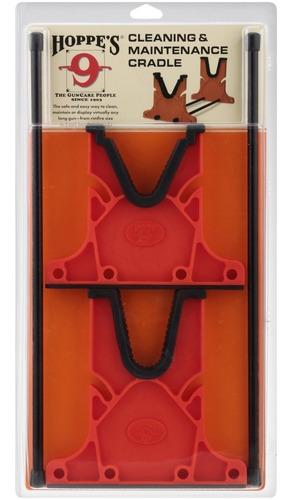 soporte base para limpieza de rifle escopeta hoppe's cacería